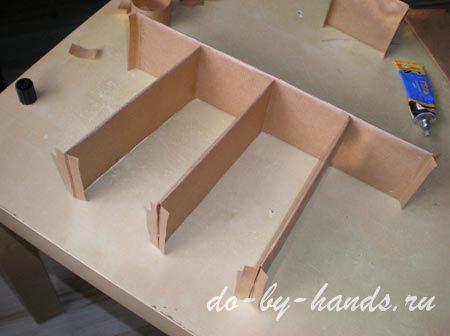 перегородки в коробку