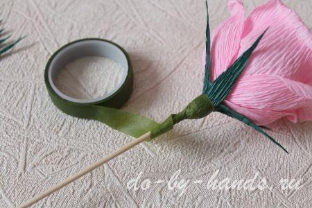 стебелек у розы