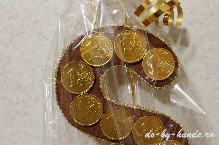 Подарочные монеты своими руками 68