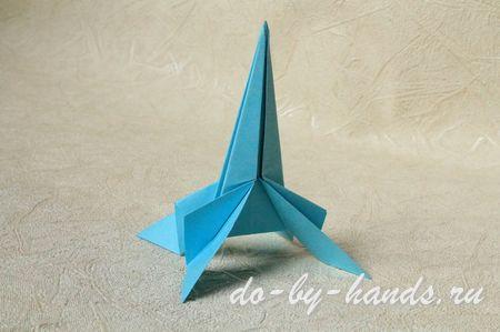 Вот такая ракета оригами