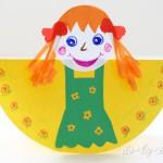блинная кукла масленица из бумаги