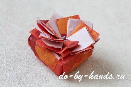 украшение подарочной коробки