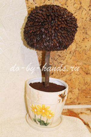 кофейное дерево мастер класс с фото