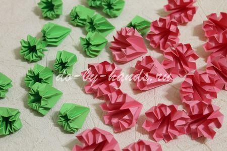 Готовые модули цветка примулы
