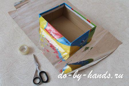 Как сделать коробку