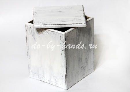 декупаж коробки