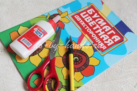 Как сделать дятла своими руками из бумаги