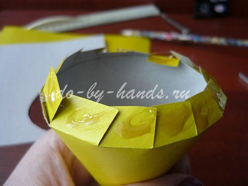 Ободок из бумаги своими руками