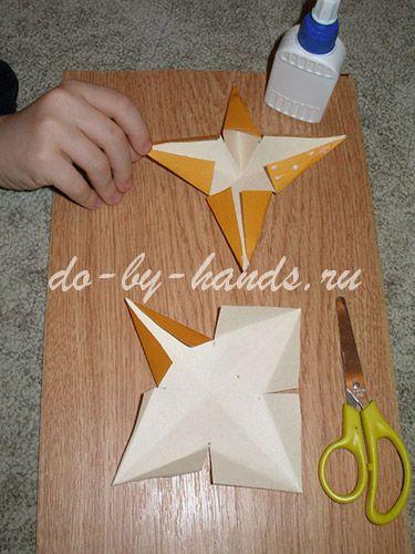 звездочка из бумаги
