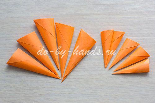 Оригами когти из бумаги можно