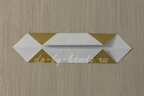 Оригами из бумаги меч схема фото 480