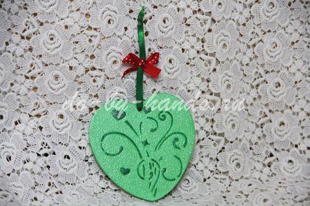 валентинка своими руками сердечко