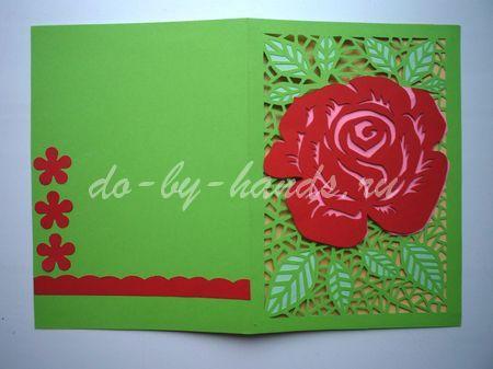 открытка на день рождения  для мамы и бабушки