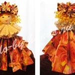 оригами кукла из бумаги