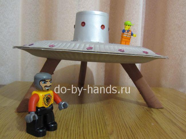 Летающия тарелка своими руками фото