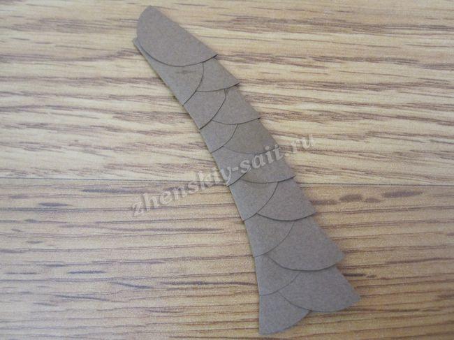 Гирлянда елочка из бумаги своими руками