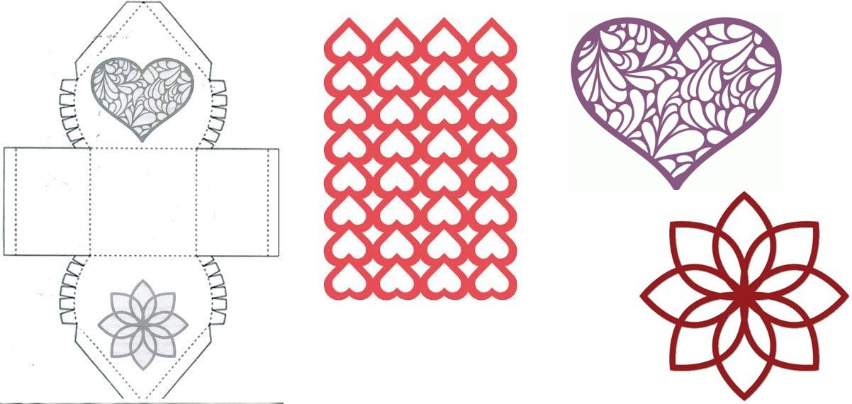 Объемные картинки из бумаги своими руками схемы шаблоны