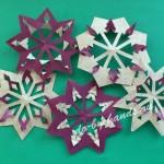красивые снежинки из бумаги