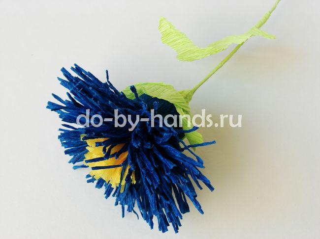 Гвоздики своими руками из гофрированной бумаги