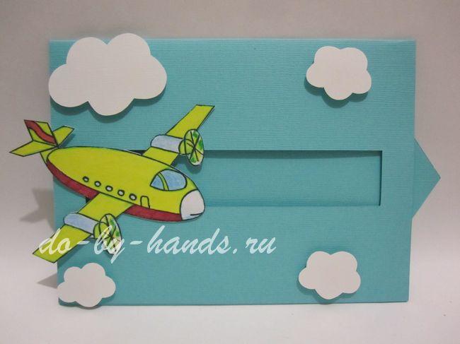 Своими руками самолет на день рождения для папы