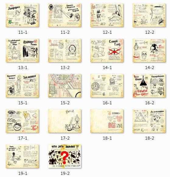 Как сделать дневник гравити фолз 3 65