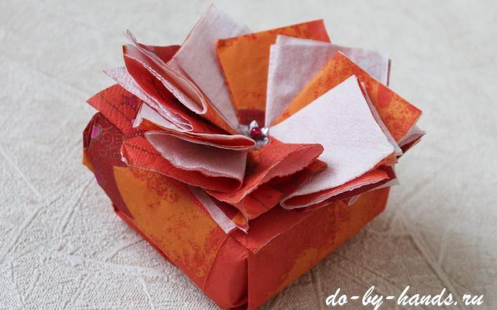 Как сделать коробку под елку своими руками