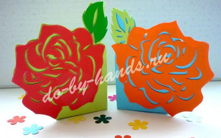 Коробочка из бумаги своими руками оригами фото