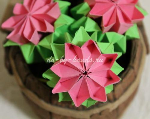 Модульное оригами поделки к осени