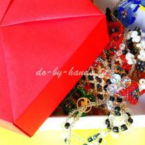 Оригами коробочка с крышкой: пятиугольная шкатулка из бумаги