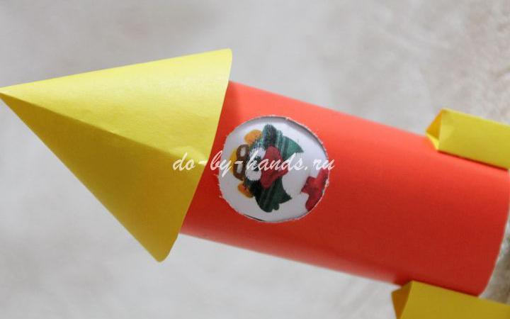 Ракета из бумаги и картона: как сделать своими руками