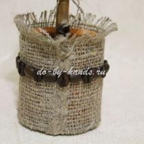 Горшок для кофейного дерева своими руками