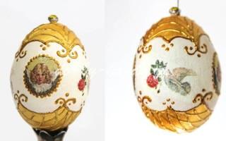 Поделка «Пасхальное яйцо» — Декупаж