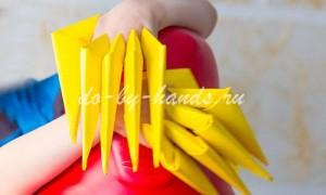 Как сделать когти из бумаги — схема по шагам