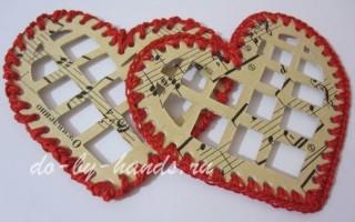 Подарки сердечки своими руками