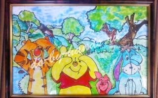 Как рисовать витражными красками по стеклу