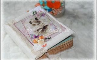 Блокнот «Романтика» скрапбукинг