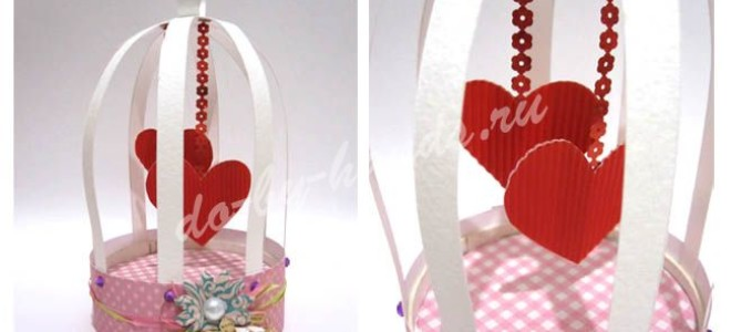 Подарки на день Валентина своими руками