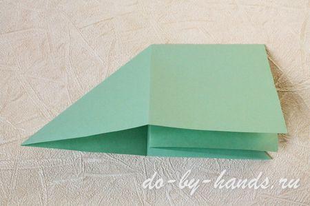 оригами базовая форма треугольник