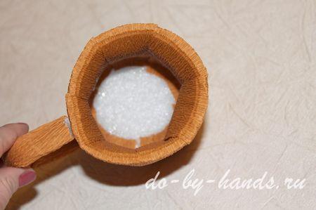 пивная кружка из конфет