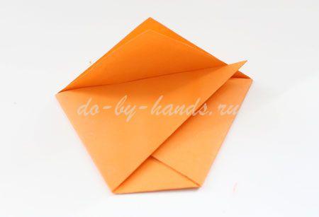 оригами конверт