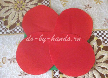 цветок для мамы из бумаги