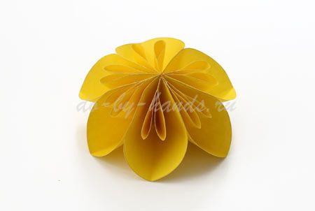цветок из кругов