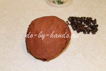 кофейное дерево своими руками с фото