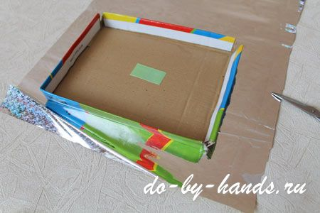 Упаковочная коробка своими руками