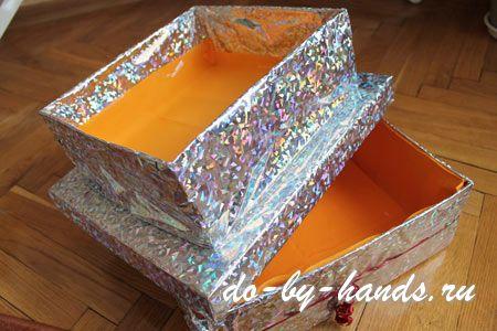 подарочная коробка торт