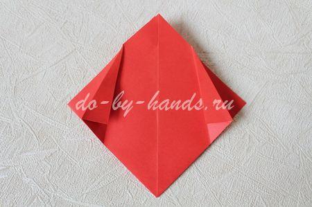 оригами тюльпан