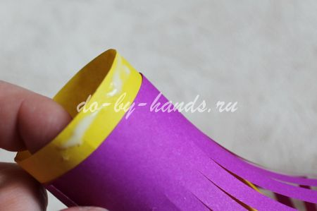 фонарик из бумаги