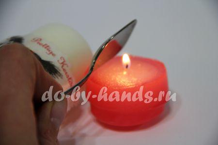 декупаж свечи своими руками