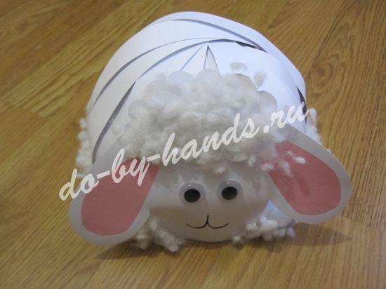 овечка шапочка для новогоднего костюма